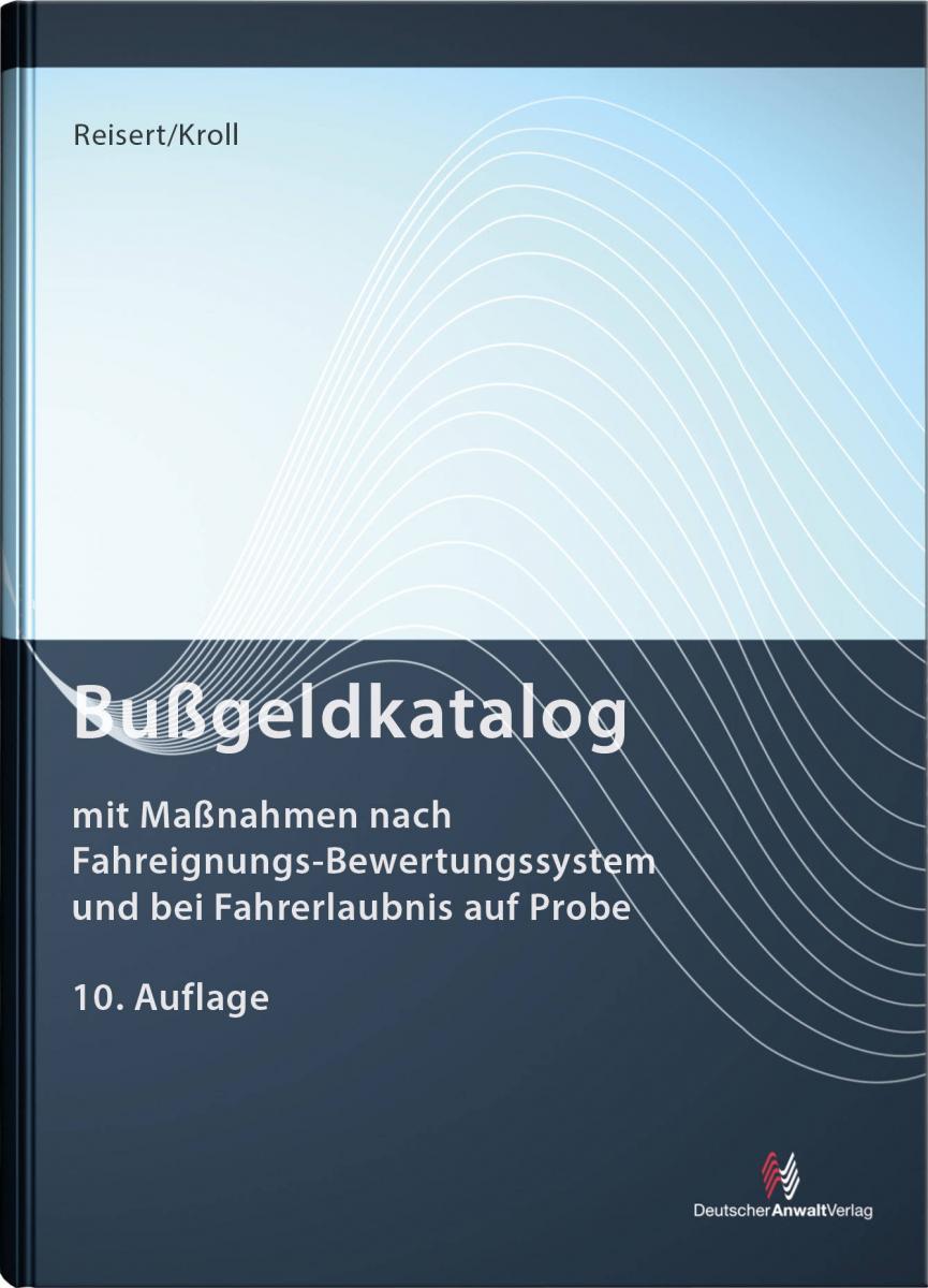 Tabelle - Bußgeldkatalog | Reisert