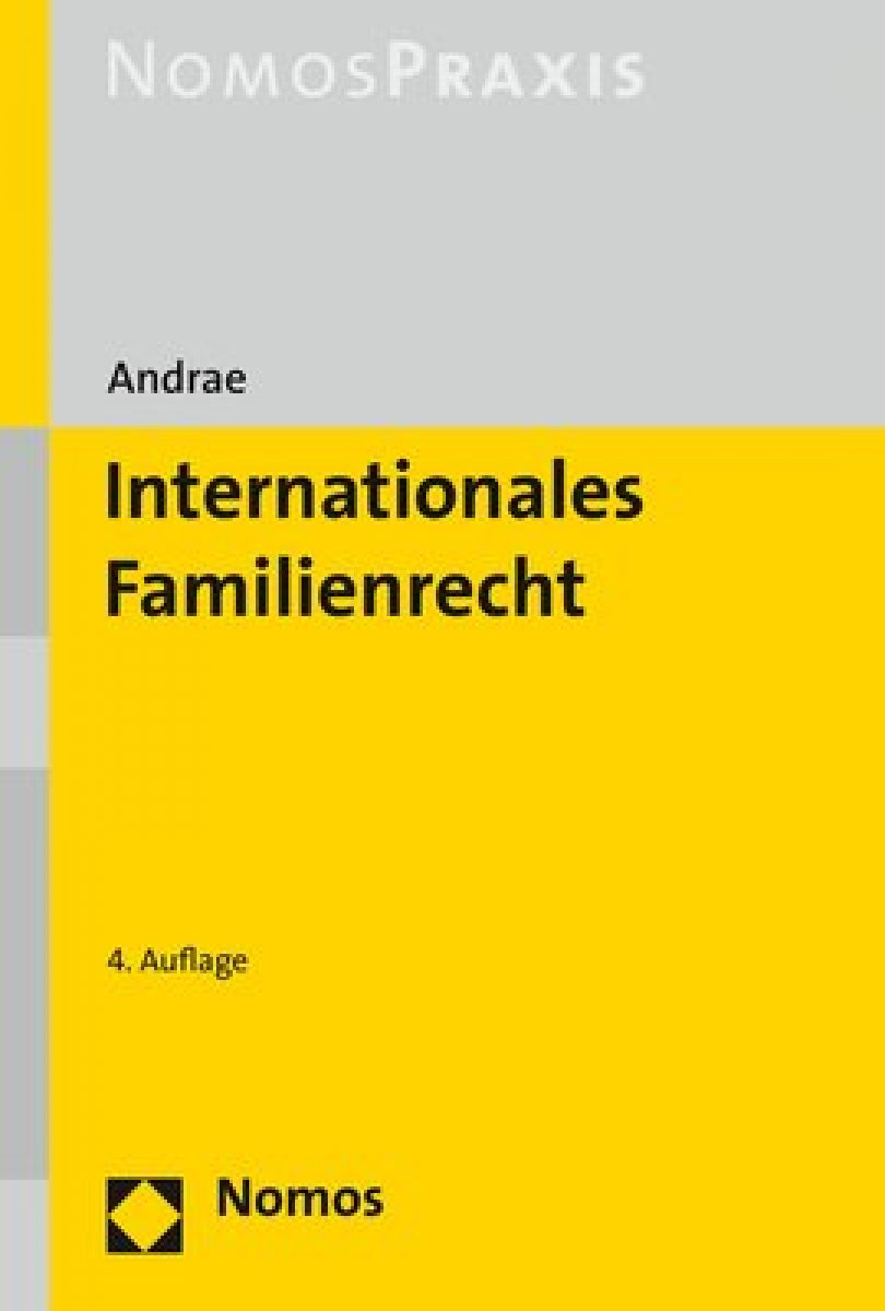 Internationales Familienrecht | Andrae